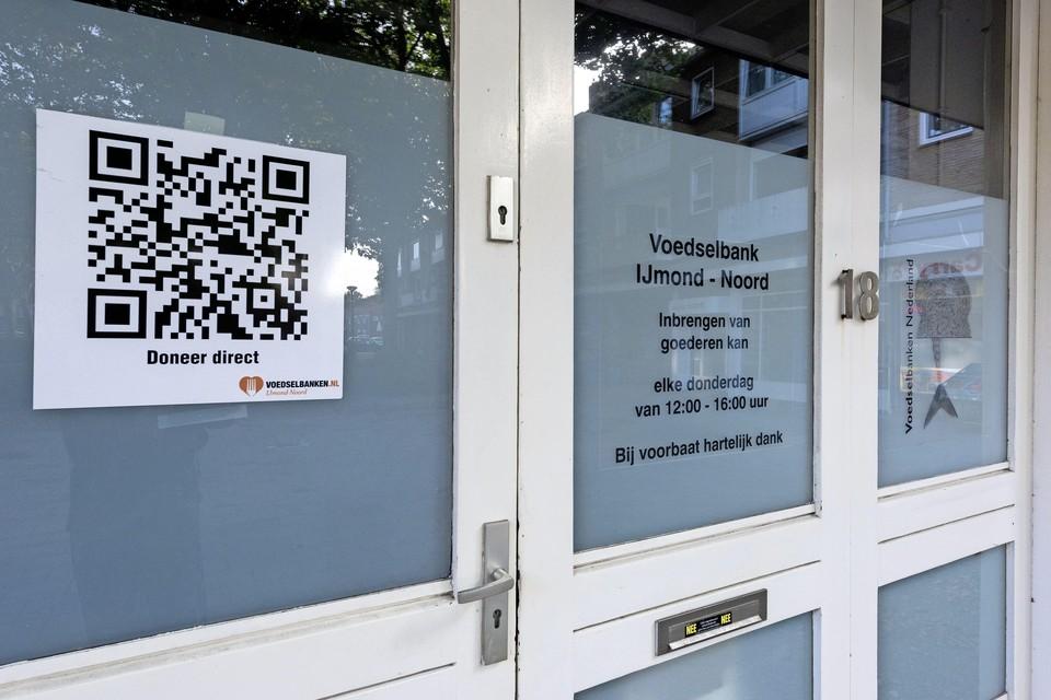 Voedselbank nu nog aan het Hilbersplein.