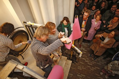 Isolde Zandee's YogaToday gaat als eerste nieuwe functie van start in getransformeerde Laurentiuskerk in Weesp