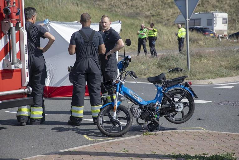 Brommerbestuurster omgekomen bij ongeluk in Bloemendaal aan Zee [update]