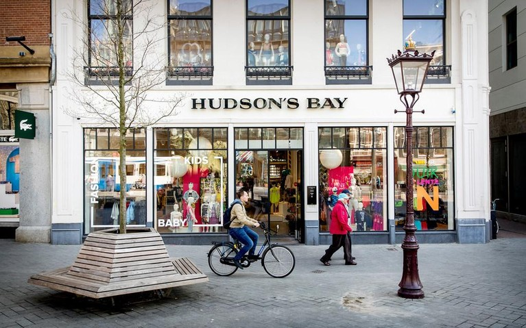 Hudson's Bay vertrekt uit Nederland