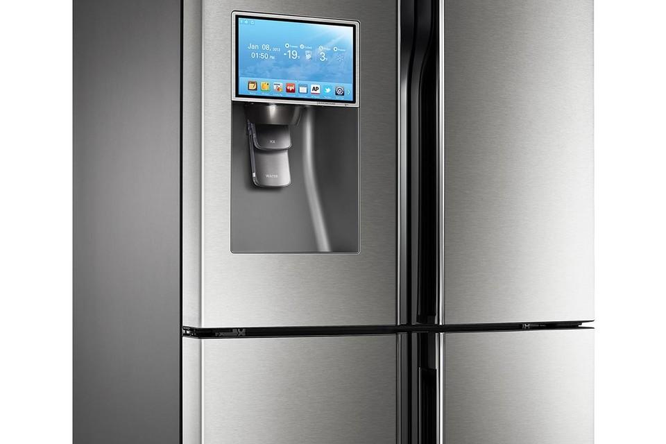 Een moderne koelkast.
