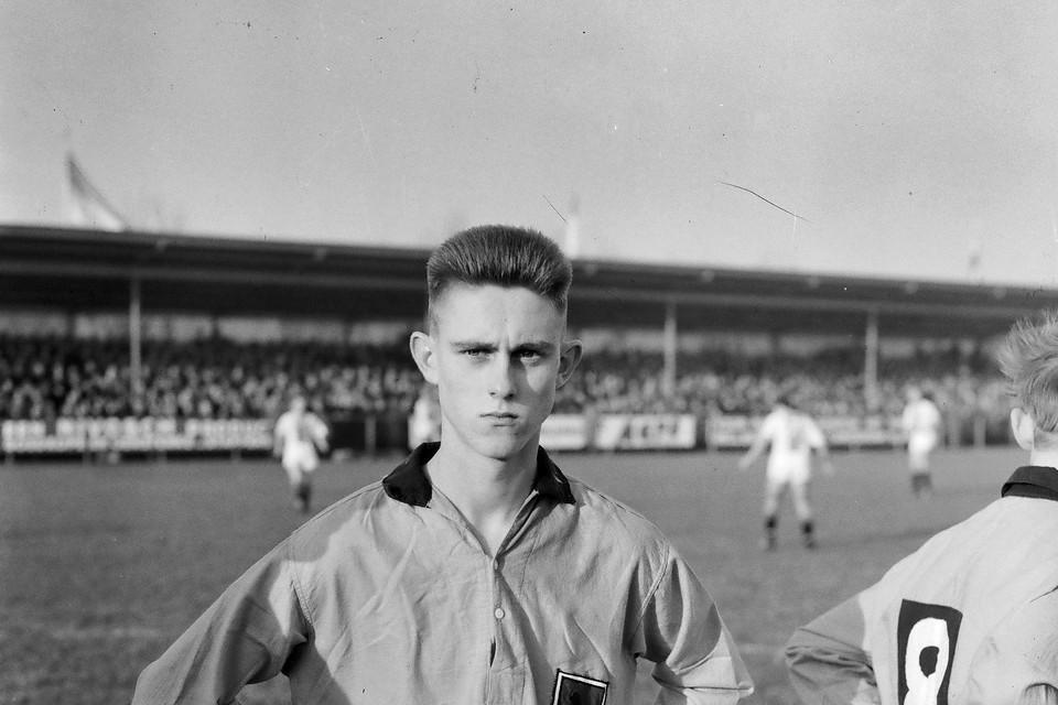 22 november 1959: Wim Kras is de jongste debutant in de eredivisie.