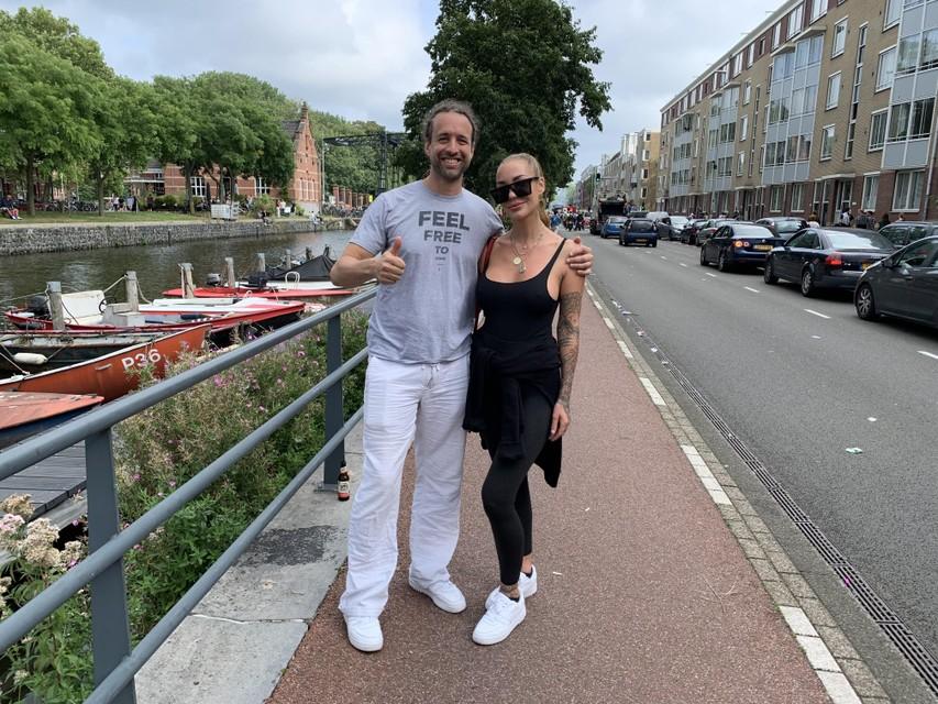 Willem Engel en Dorien Rose Duinker.