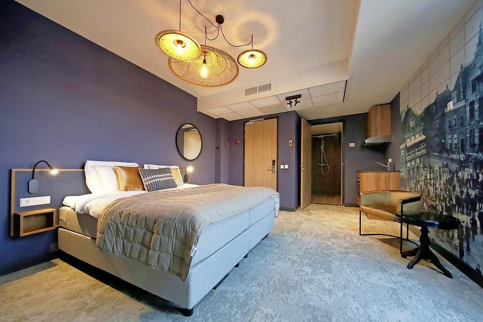 Een van de fraaie suites van Hotel Marktstad in Schagen vlak voor de opening.