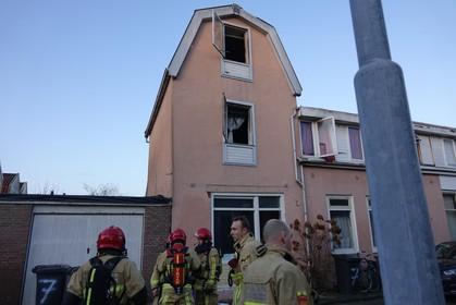 Bewoners springen in paniek uit raam na woningbrand in Zaandam
