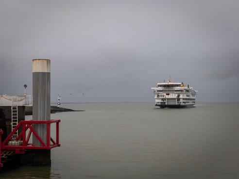 Veerboot weer in haven Texel na technische storing