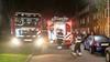 Woningbrand in woning in Velsen-Noord, slachtoffer meegenomen naar ziekenhuis