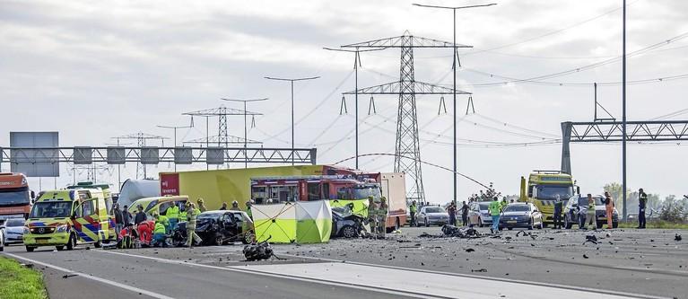 Man en vrouw uit Bergen aan Zee omgekomen bij ongeluk A2