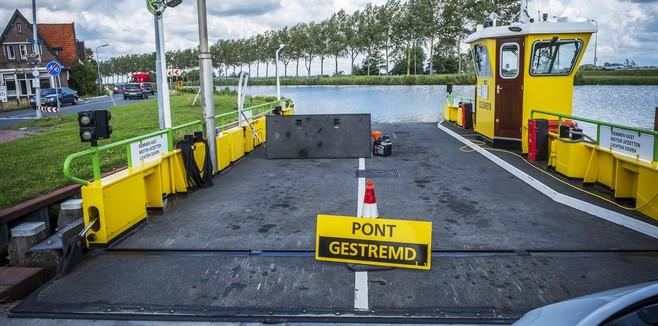 Pont Akersloot woensdagmiddag weer in bedrijf