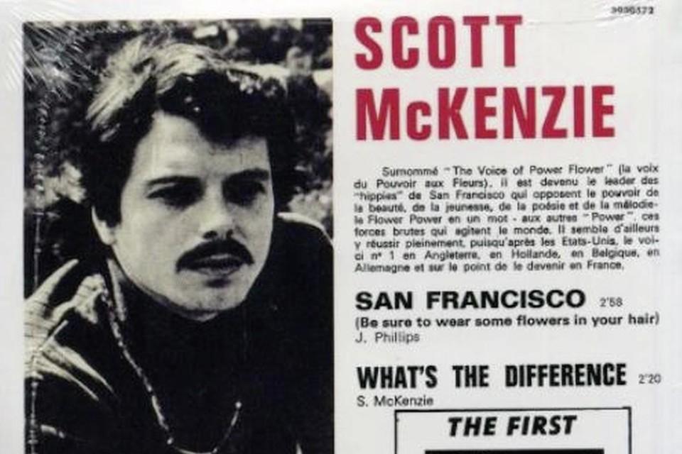 'San Francisco' van Scott Mckenzie