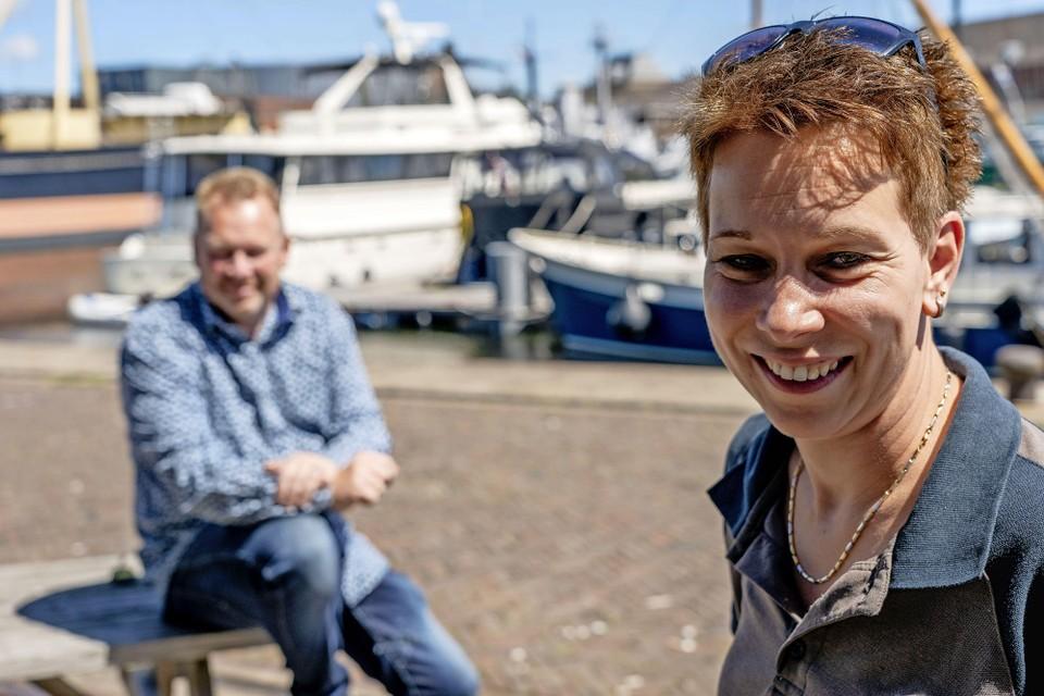 Raymond en Cindy Prikken exploiteren de jachthaven en de camperplaatsen op Willemsoord.