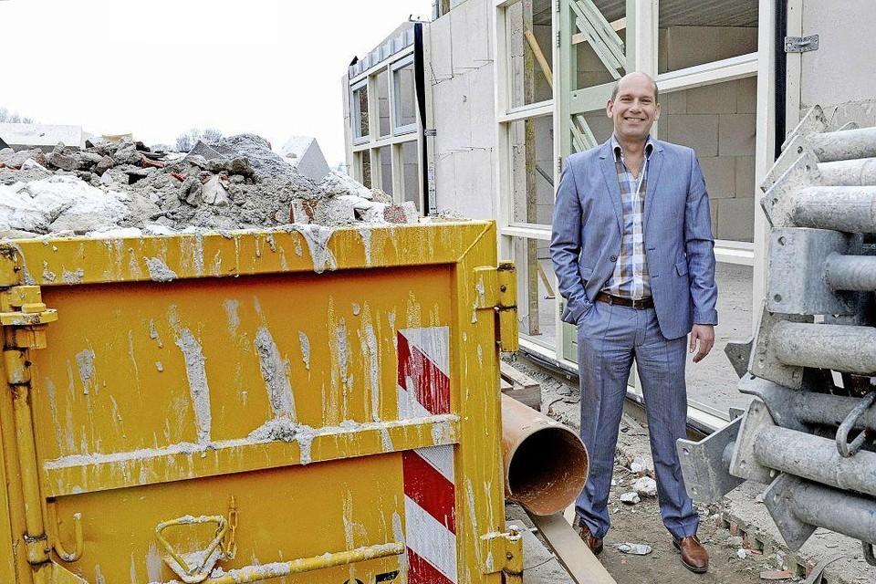 Directeur Kees Jan Tuin van bouwbedrijf A. Tuin.