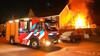 Felle brand verwoest schuur en veranda in Heemskerk
