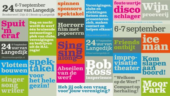 'Alles kan' tijdens de '24 uur van Langedijk' op Broekerwerf