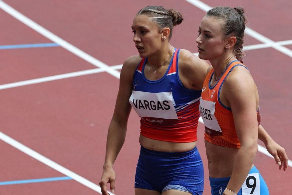 Nadine Visser door naar halve finales 100 meter horden.