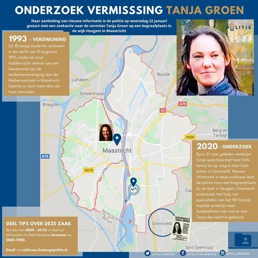 Mogelijke doorbraak in verdwijning Tanja Groen uit Schagen