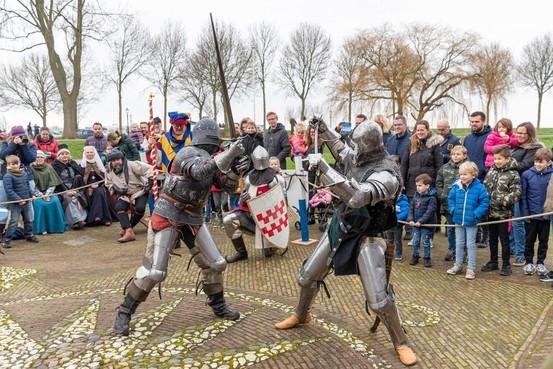 Middeleeuwse gluurder wordt vrijgesproken in Kasteel Radboud Medemblik