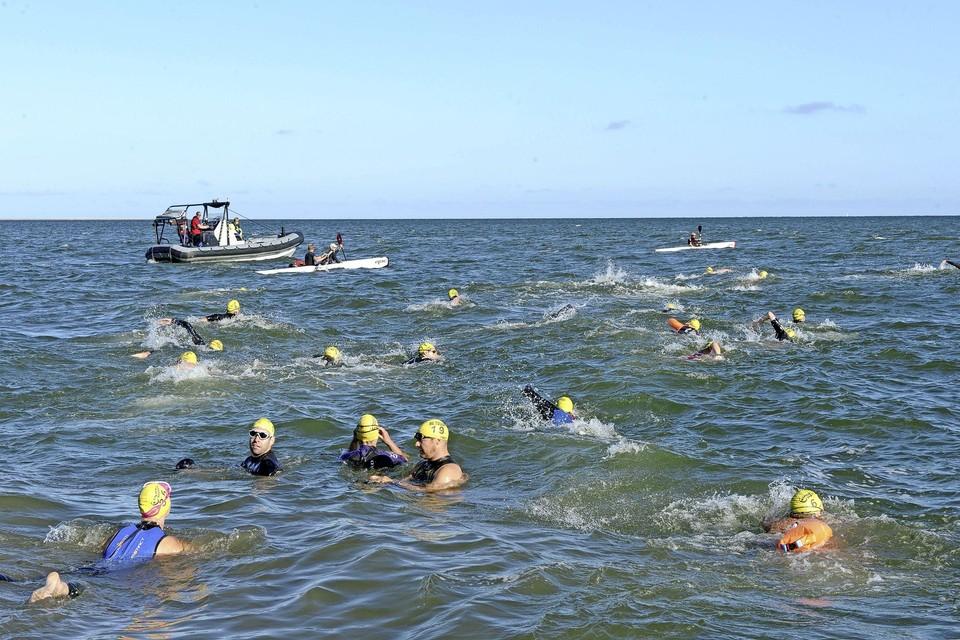 Zwemtocht Den Helder-Texel