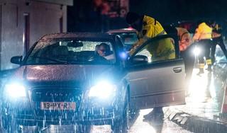 45 boetes voor automobilisten in politiefuik A2 bij Zaltbommel
