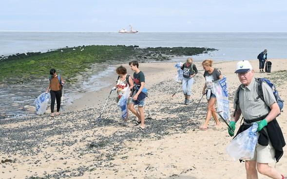 Opruimploeg voor strand Texel bijna vol