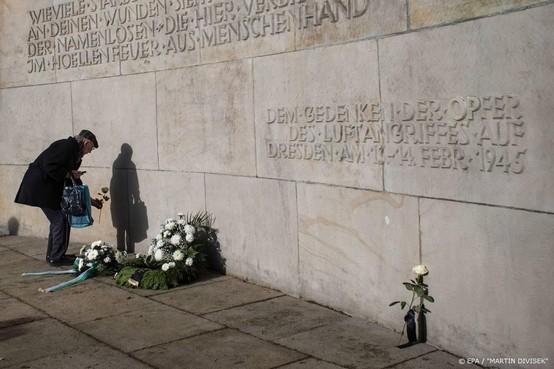 Duitsland herdenkt bombardement Dresden in WO II