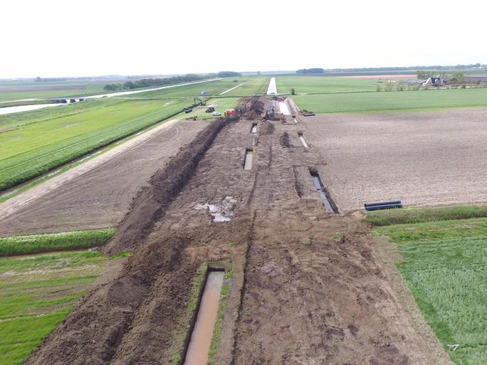Ook waterschap blij met zeldzame archeologische vondst op Wieringen, ondanks extra kosten en vertraging miljoenenproject