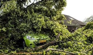 Zeker zes huizen in Leersum onbewoonbaar na noodweer