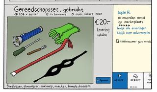 Ook inbreker werkloos in coronajaar; toch steeg de criminaliteit in de IJmond tegen landelijke trend in