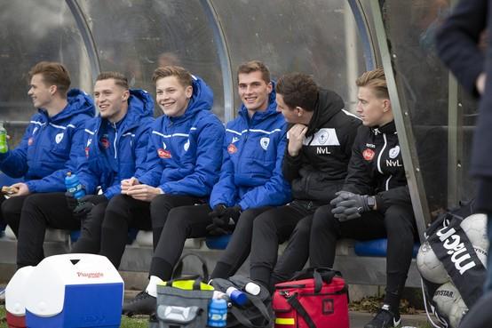 Robin Eindhoven (21) vindt wachten op speelminuten bij Spakenburg lastiger dan verwacht
