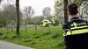 Fietsers zwaargewond bij onderlinge botsing in Bergen, traumaheli ingezet