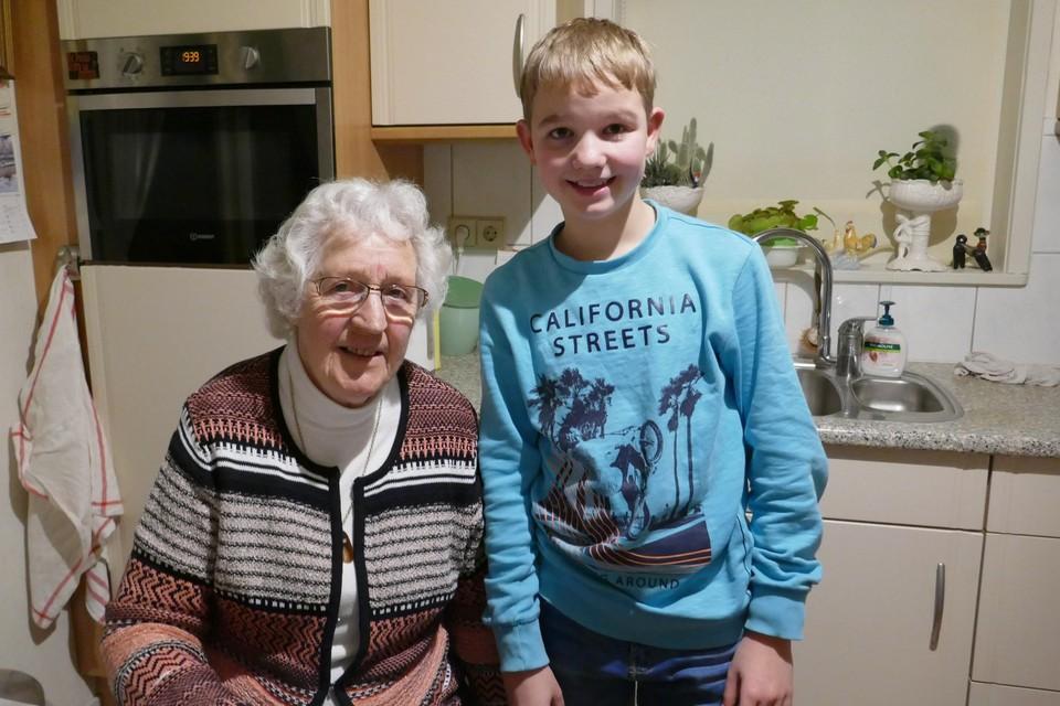 Nan de Boer en Jelle Mulder.
