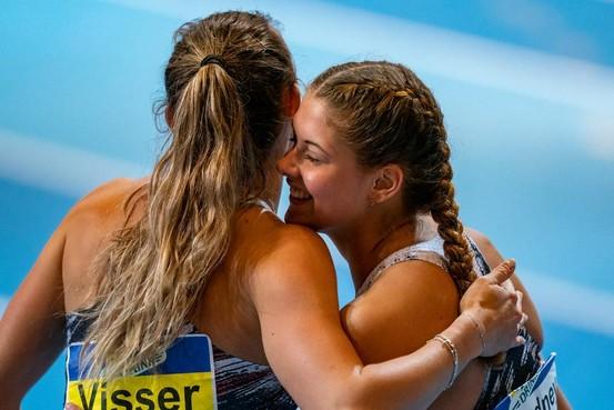 Atlete Nadine Visser snelt naar zesde indoortitel 60 horden