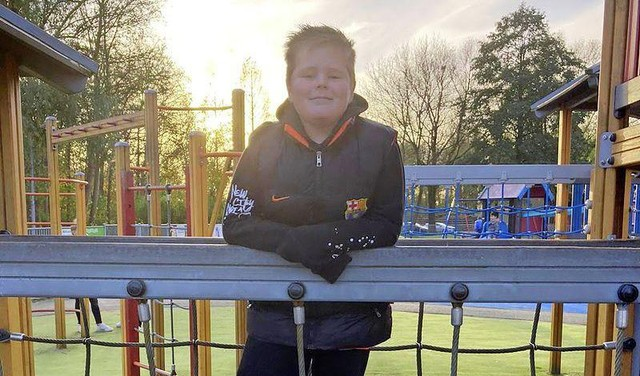 Held Don Steding (10) redt jongetje van de verdrinkingsdood: 'Hij zat vast met zijn voet aan een tak'