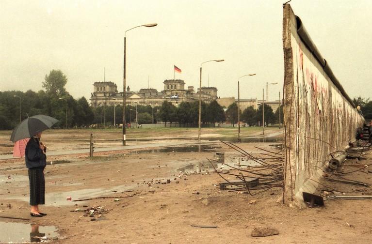 Val van de Muur: hakken naar vrijheid