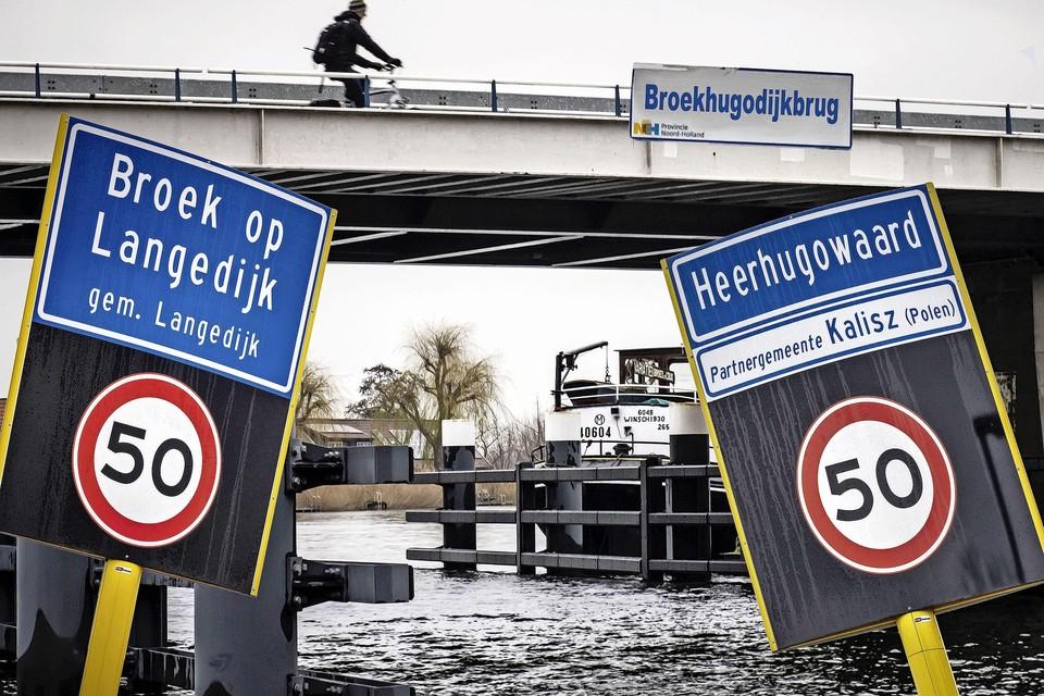 Heerhugowaard en Langedijk mogen wat de Eerste Kamer betreft fuseren.
