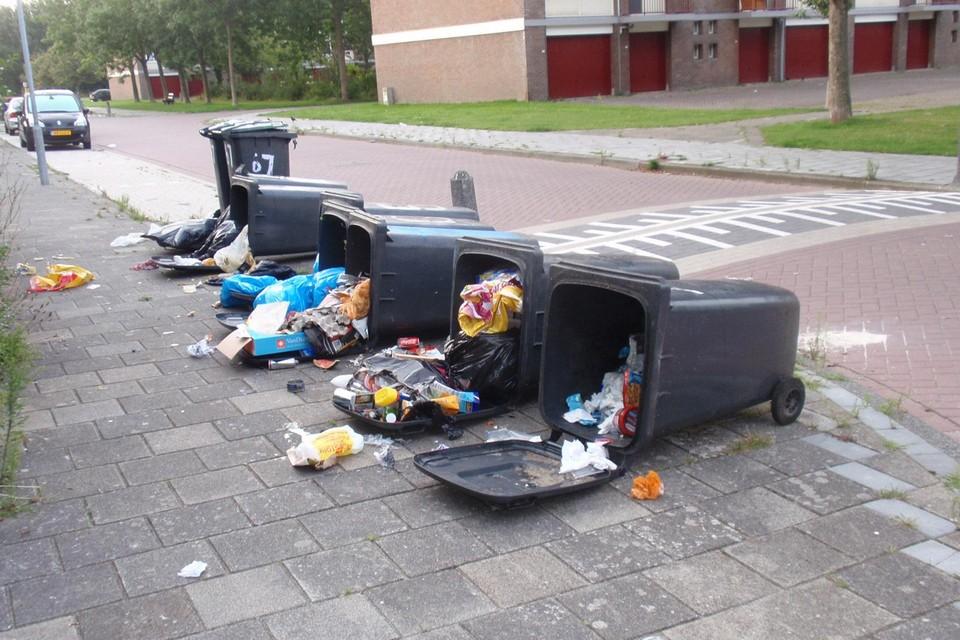 De gemeente Den Helder krijgt nog altijd veel meldingen over afval.