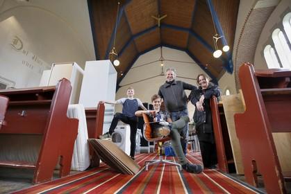 Steeds meer kerken in de Noordkop krijgen een nieuwe functie, van woonhuis tot sportschool