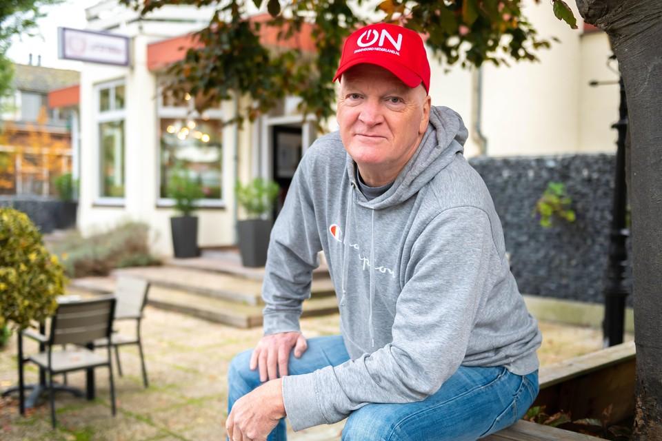 Arnold Karskens (66) oprichter van de nieuwe omroep Ongehoord Nederland.