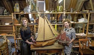Vrouwen grijpen de macht in het Edams Museum: Julie en Sophie zijn creatieve conservatoren in coronatijd