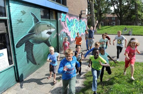 Tienercentrum in oud-Den Helder bouwt sportief feestje voor alle jeugd