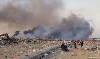 Doden door enorme explosie in havengebied Beiroet