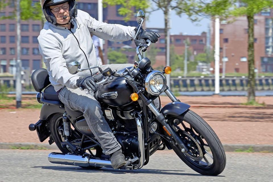 Hugo Pinksterboer van de Motorrijders Actie Groep (MAG).