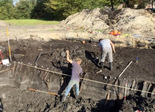 Archeologen graven Romeinse wachttoren op in Krommenie