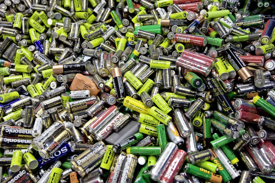 Lege batterijen.