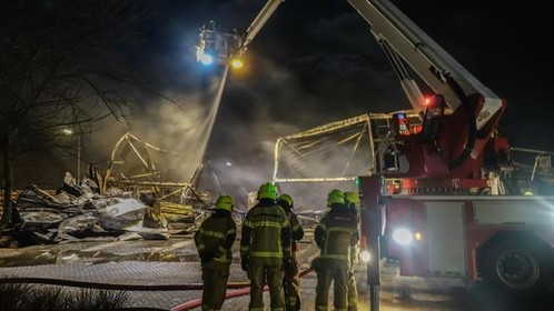 Liander: 'Als transformatorhuis Witte Paal in brand was gevlogen had heel Schagen en omgeving urenlang zonder stroom gezeten' [video]