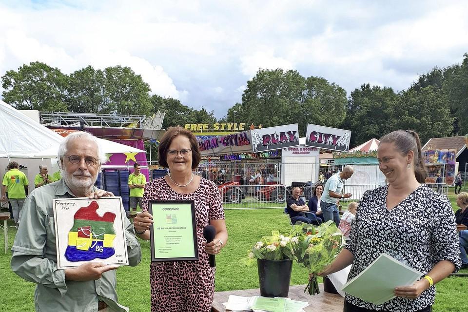 De BG Waarderingsprijs wordt jaarlijks tijdens de Beemster kermisweek uitgereikt.