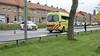 Automobilist knalt bovenop lesauto in Zaandam, rij-instructeur gewond mee naar het ziekenhuis