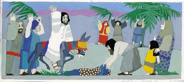 De bijbelse afbeeldingen van Bergenaar Kees de Kort zijn de hele wereld overgegaan: 'Jezus op de fiets, dat kan ook'