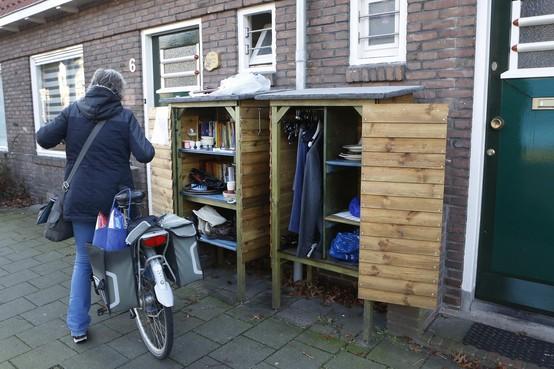Gratis winkelen in het populaire miniwarenhuis van Tessa en Ilona in Hilversum: 'Leuke spullen zijn soms in vijf minuten weg'