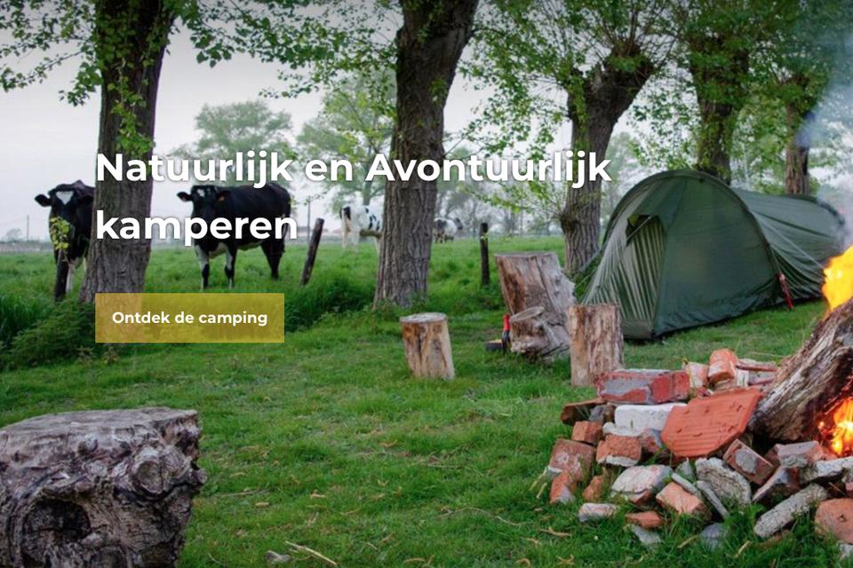 Camping Boven 't Maaiveld belooft een avontuurlijk verblijf in Hoogwoud.